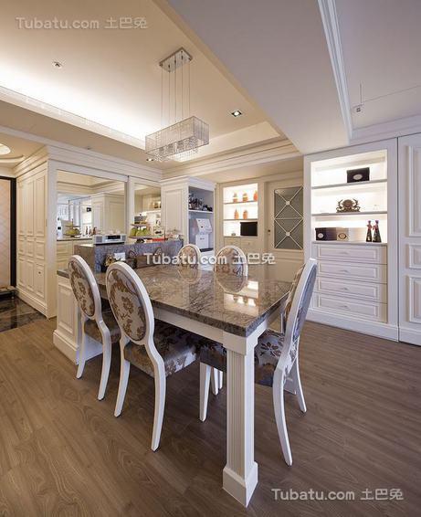 典雅新古典餐厅装修