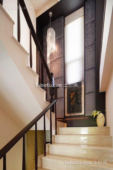 新古典家居楼梯装修