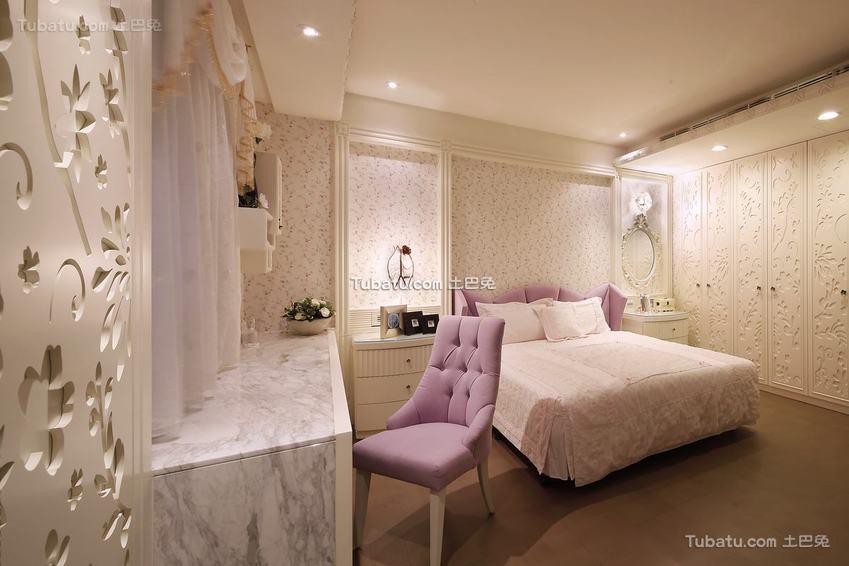新古典浪漫卧室装修