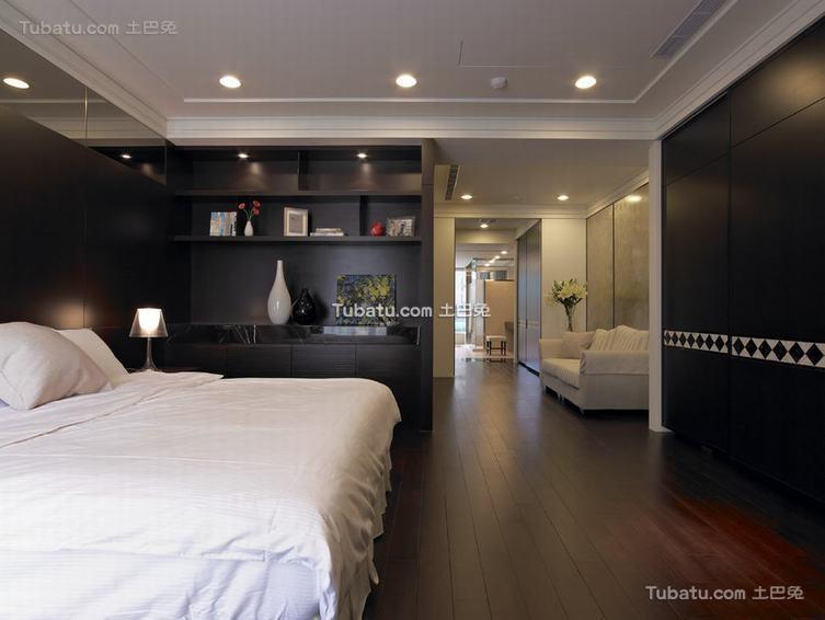 现代风格卧室展示
