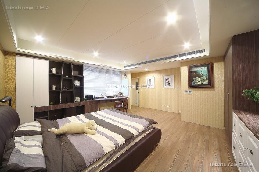 欧式卧室装修展示