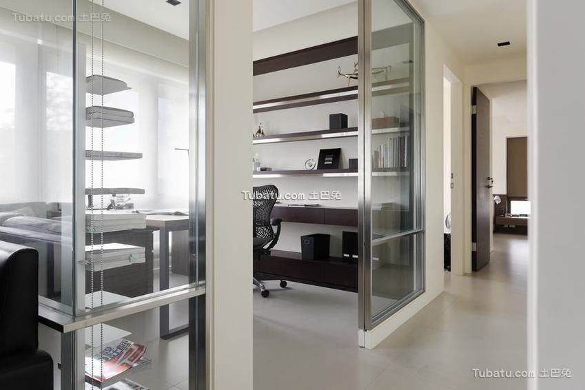 简约公寓书房室内设计图片