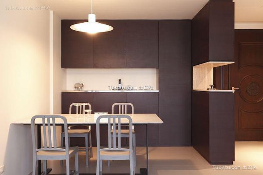 最新简公寓室内餐厅设计图片