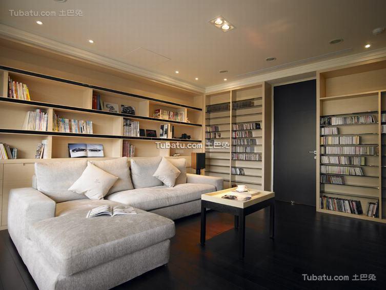 现代风格书房展示