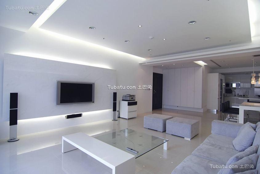 简约主义两居室装修案例