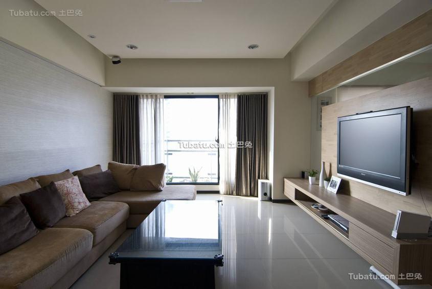 现代客厅整体装修示例