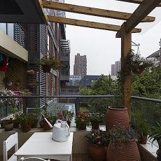美式装饰设计阳台图片2015欣赏