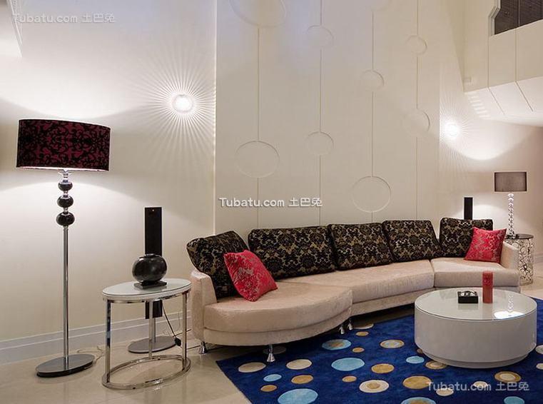 现代客厅色彩装修