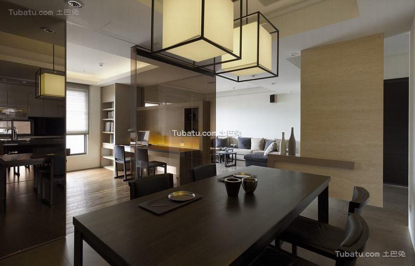 现代风格餐桌椅设计