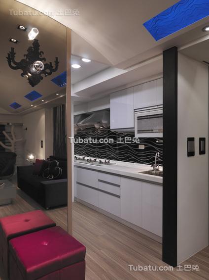 时尚现代家居厨房装修设计效果图