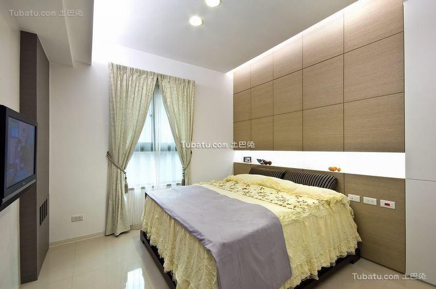 现代风格小卧室室内效果图片