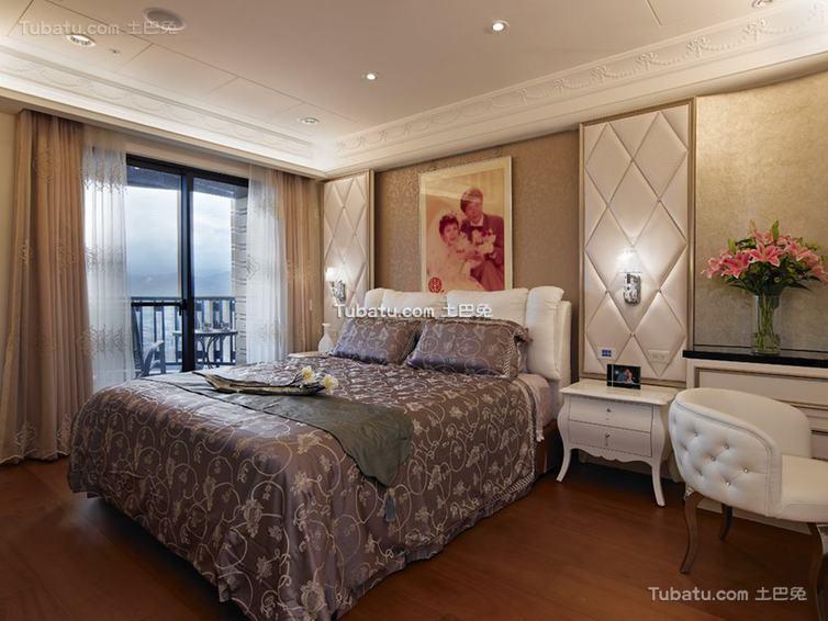 欧式卧室布置装修