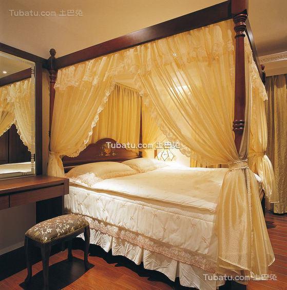 古典美式卧室装修展示