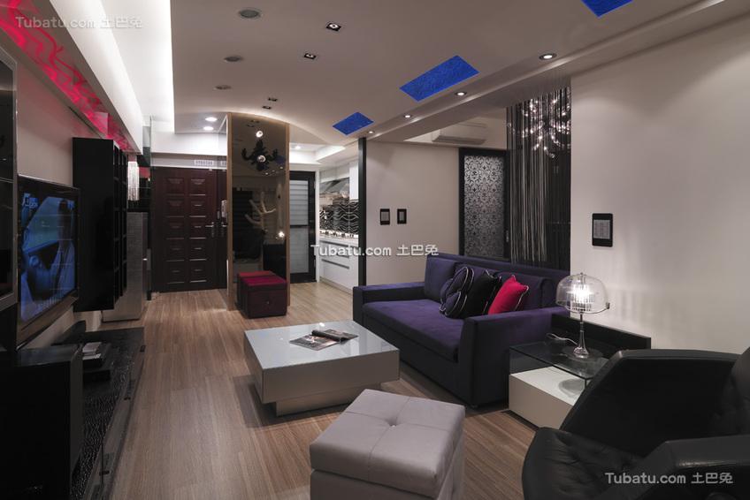 现代客厅设计展示