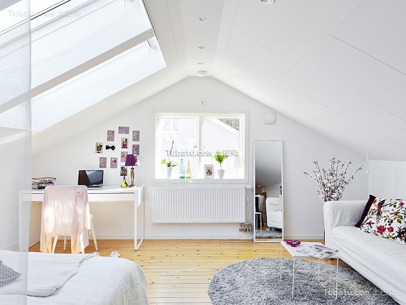 北欧风格小平米公寓装修