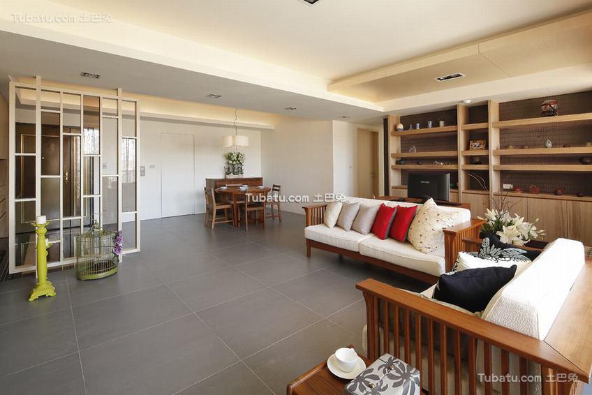 三居室中式装修