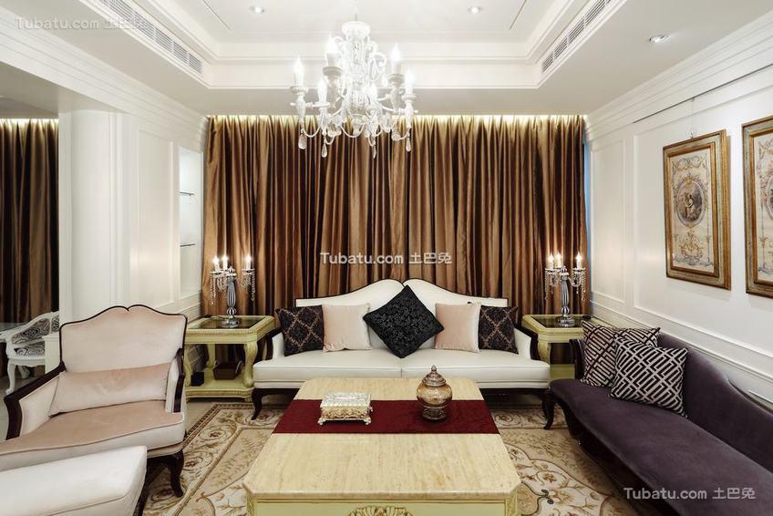 北欧风格三居室内装修图片欣赏