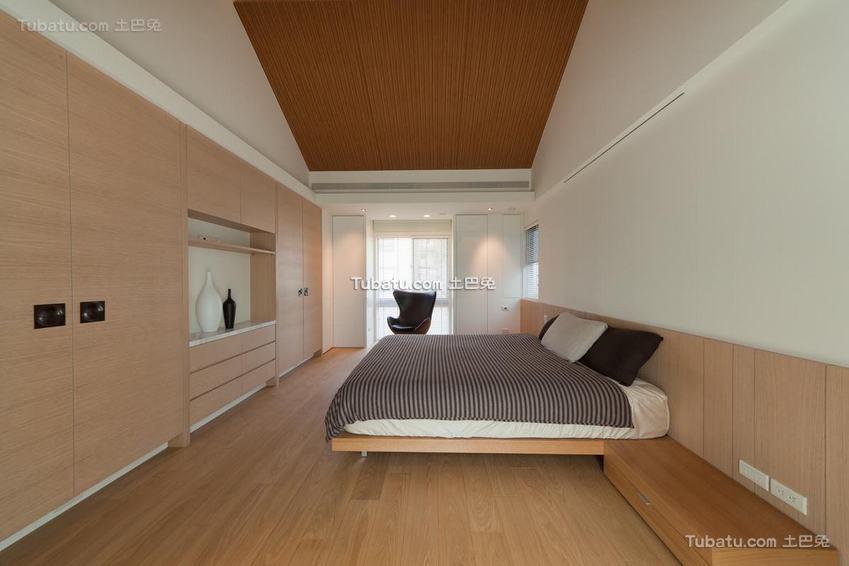 卧室美式简约设计
