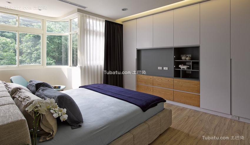 现代风格室内卧室装饰图片