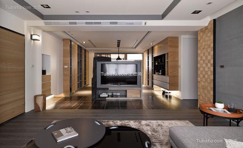 现代风格别墅室内装饰图片