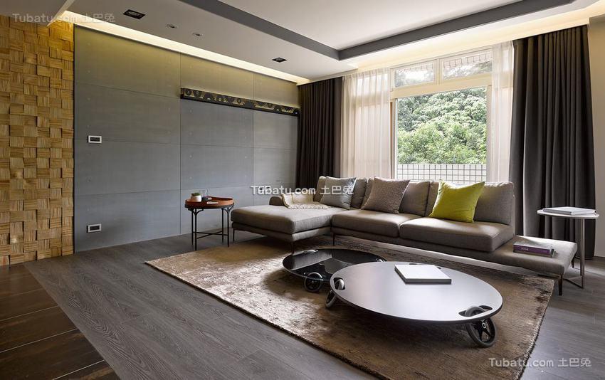 现代风格别墅室内客厅装饰图片