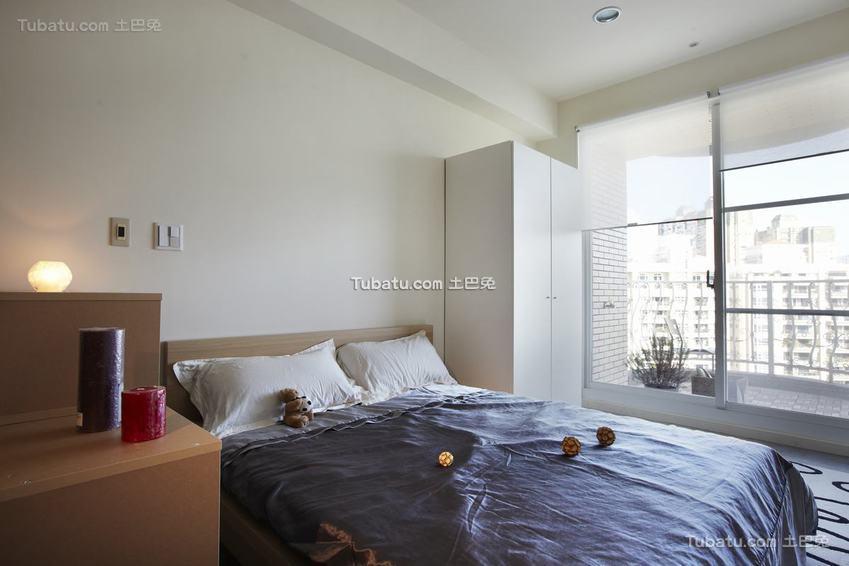 现代卧室图