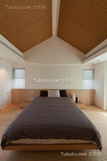 卧室吊顶美式效果图
