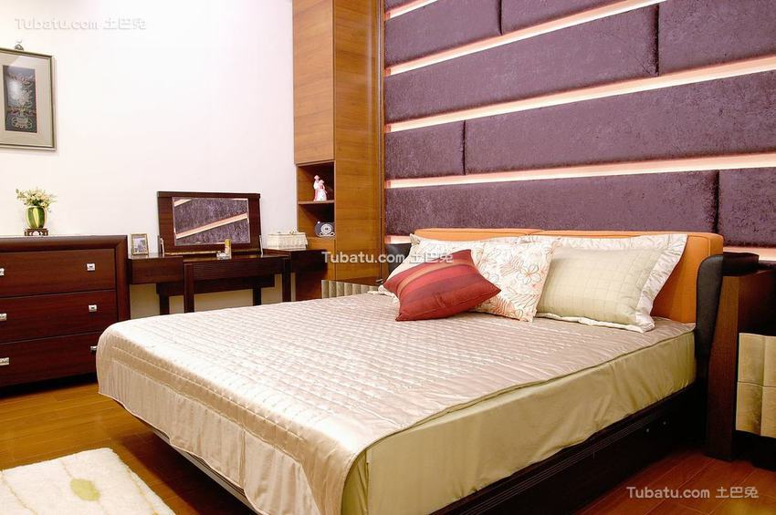 时尚现代风卧室装修效果图