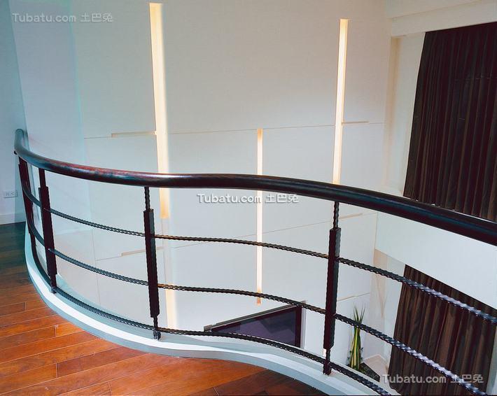 现代别墅室内栏杆图片