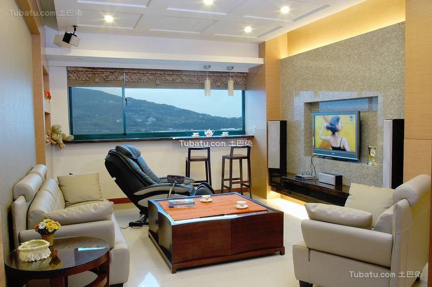 现代时尚一居室装修