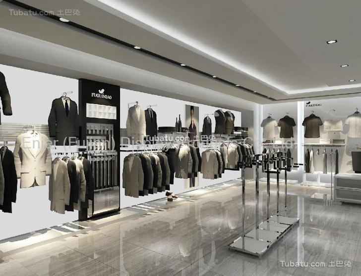 现代服装店图片案例