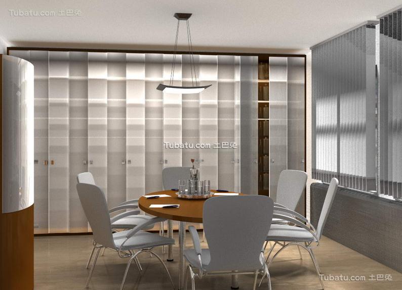 休息会议室装饰设计效果图片