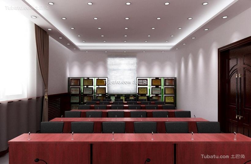 公司会议室装饰设计效果图片