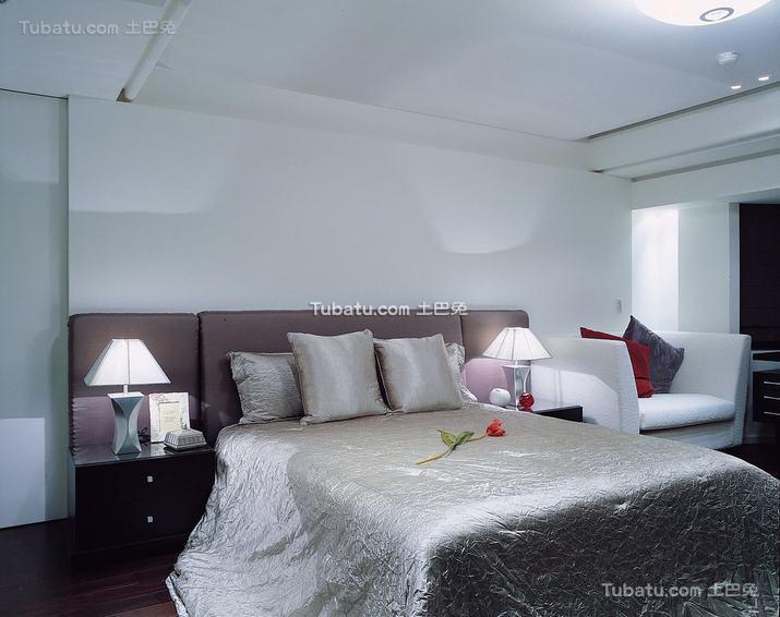 现代室内卧室装修图片