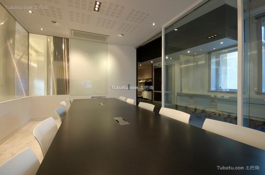 简约会议室装饰布置效果图片