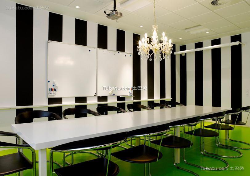 会议室装饰设计效果图片