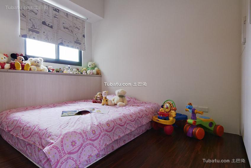 现代布偶儿童房装修
