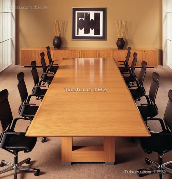 普通会议室装饰设计效果图片