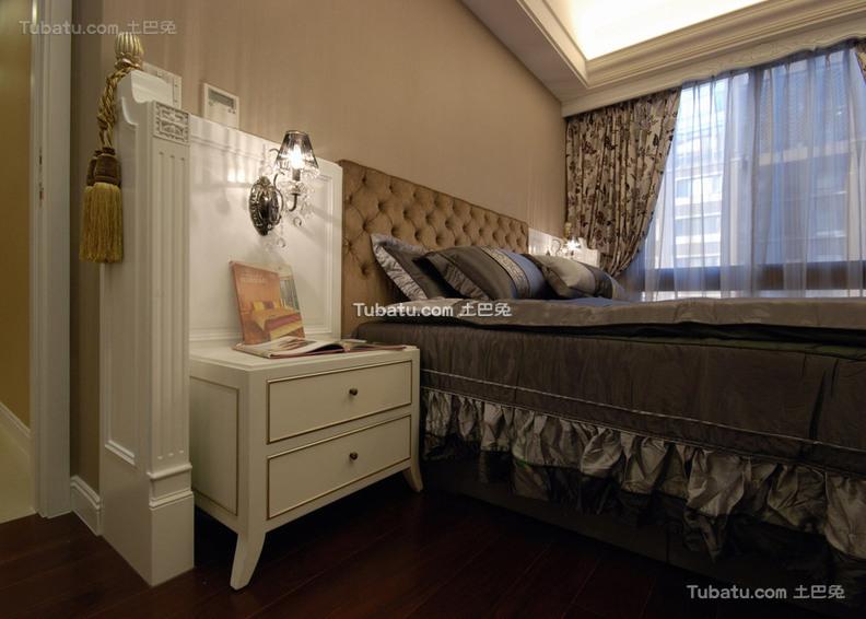 华丽主卧室新古典家居装修