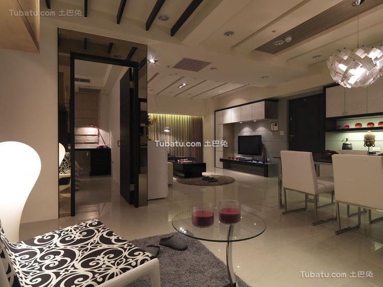 现代时尚家居装饰效果图
