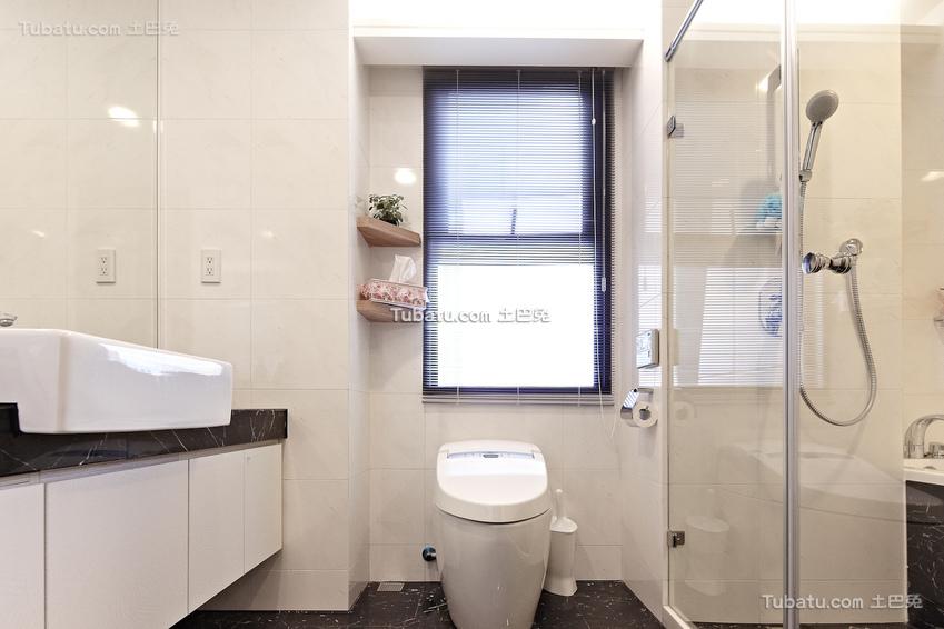 简约设计卫生间欣赏