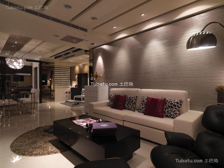 现代时尚家居二居装修布局