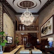 2018一居中式装修设计效果图片欣赏