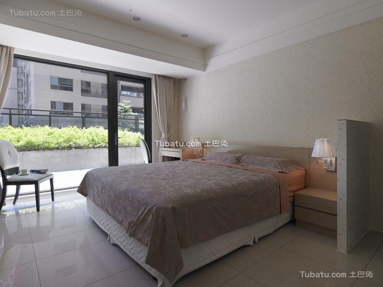 现代三居卧室装饰效果图