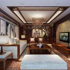 热门中式二居装饰图