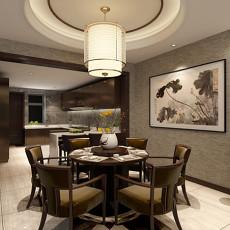 精选123平米中式别墅装修欣赏图片