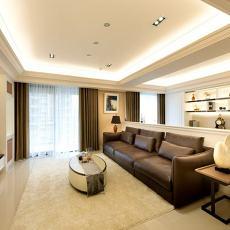 热门面积99平美式三居装修设计效果图片欣赏
