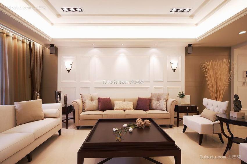 现代优雅整洁二居室装修