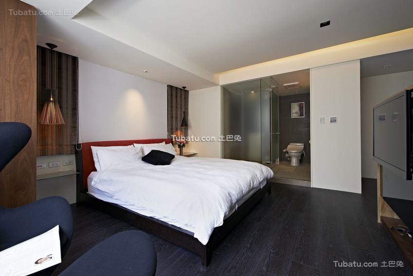 现代质感家居卧室装修案例