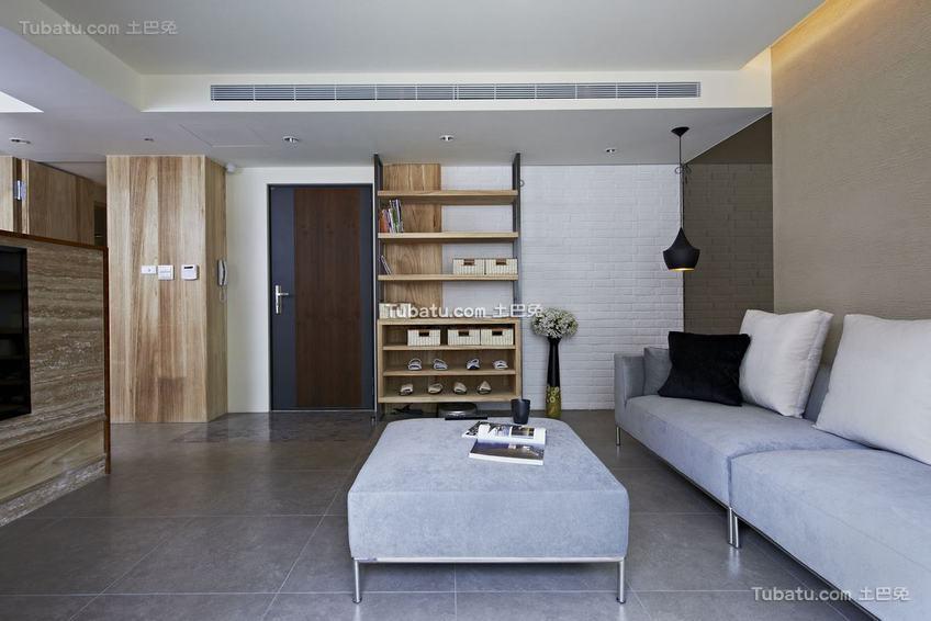 现代客厅质感装修